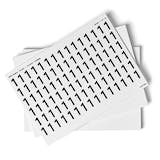 White 0-9 Number Packs - 23mm Character Height