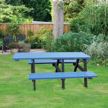 Wheelchair Access Picnic Tables - Extended Top