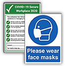 Hygiene And Infection Control Signs