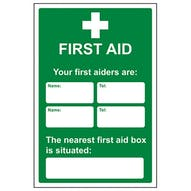 Eco-Friendly Your First Aiders Are - Your Nearest First Aid Box