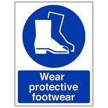 Eco-Friendly Wear Protective Footwear
