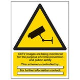 Eco-Friendly CCTV Images Are Being Monitored