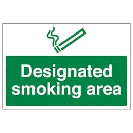 Eco-Friendly Designated Smoking Area