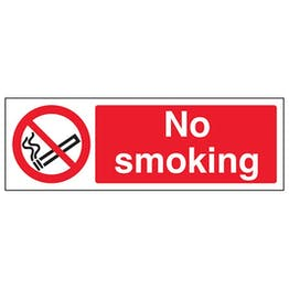 Eco-Friendly No Smoking - Landscape
