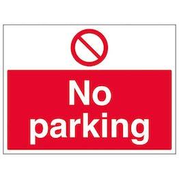 Eco-Friendly No Parking - Large Landscape