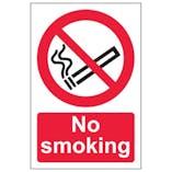 Eco-Friendly No Smoking - Portrait