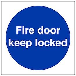 Eco-Friendly Fire Door Keep Locked