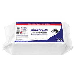 PBH Medical Universal Sanitising Disinfectant Wipes
