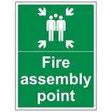 Eco-Friendly Fire Assembly Point Signs