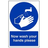 Eco-Friendly Hygiene Signs