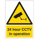 Eco-Friendly CCTV Signs
