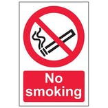 Eco-Friendly No Smoking Signs