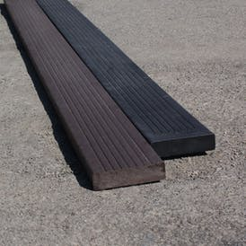 Recycled Plastic Grooved Decking