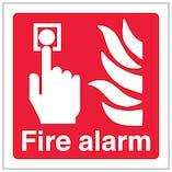 Eco-Friendly Fire Alarm - Square