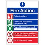 Eco-Friendly Fire Safety Signs
