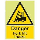GITD Danger Fork Lift Trucks