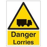 Danger Lorries - Portrait