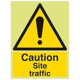 GITD Caution Site Traffic