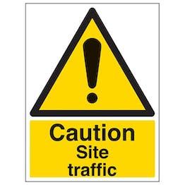 Eco-Friendly Caution Site Traffic