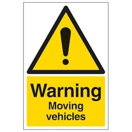 Eco-Friendly Warning Moving Vehicles