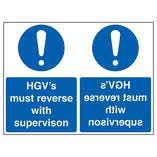 HGV's Must Reverse With Supervision - Mirrored