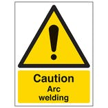 Caution Arc Welding - Portrait