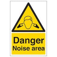 Danger Noise Area - Portrait