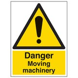 Danger Moving Machinery - Portrait