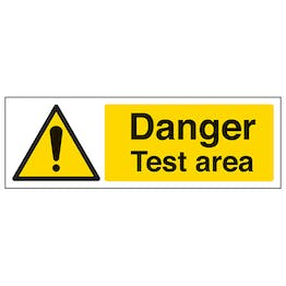Danger Test Area - Landscape