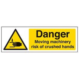 Moving Machinery Crushed Hands - Landscape