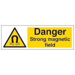 Danger Strong Magnetic Field - Landscape