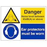 Danger Noise Levels