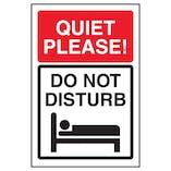 Quiet Please! Do Not Disturb