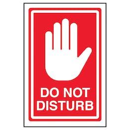 Do Not Disturb - Red
