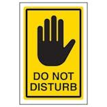 Do Not Disturb - Yellow