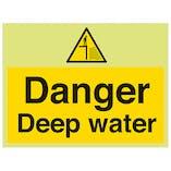GITD Danger Deep Water - Large Landscape