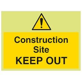 GITD Construction Site Keep Out - Large Landscape