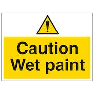 Caution Wet Paint - Large Landscape