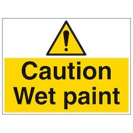 Caution Wet Paint - Large Landscape