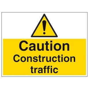 Construction Traffic - Large Landscape