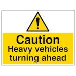 Heavy Vehicles Turning - Large Landscape