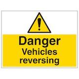 Vehicles Reversing - Large Landscape