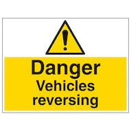 Vehicles Reversing - Large Landscape