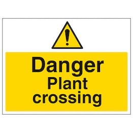 Danger Plant Crossing - Large Landscape