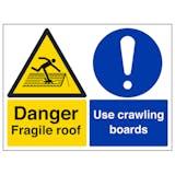 Fragile Roof/Crawling Boards - Large Landscape
