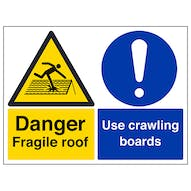 Fragile Roof/Crawling Boards - Large Landscape