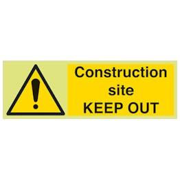 GITD Construction Site Keep Out - Landscape