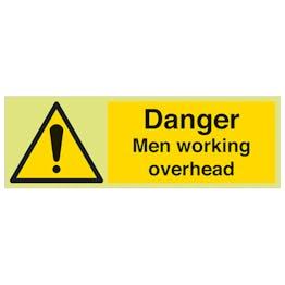 GITD Men Working Overhead - Landscape