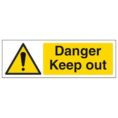 Danger Keep Out - Landscape