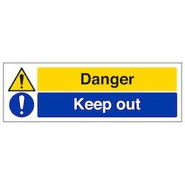 Danger/Keep Out - Landscape
